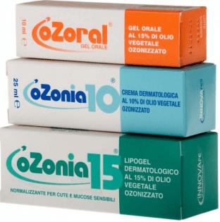 olio di girasole ozonizzato