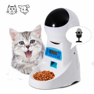 Distributore Cibo Automatico per Gatti e Cani