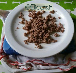 Dieta Barf cruda o semi-cotta
