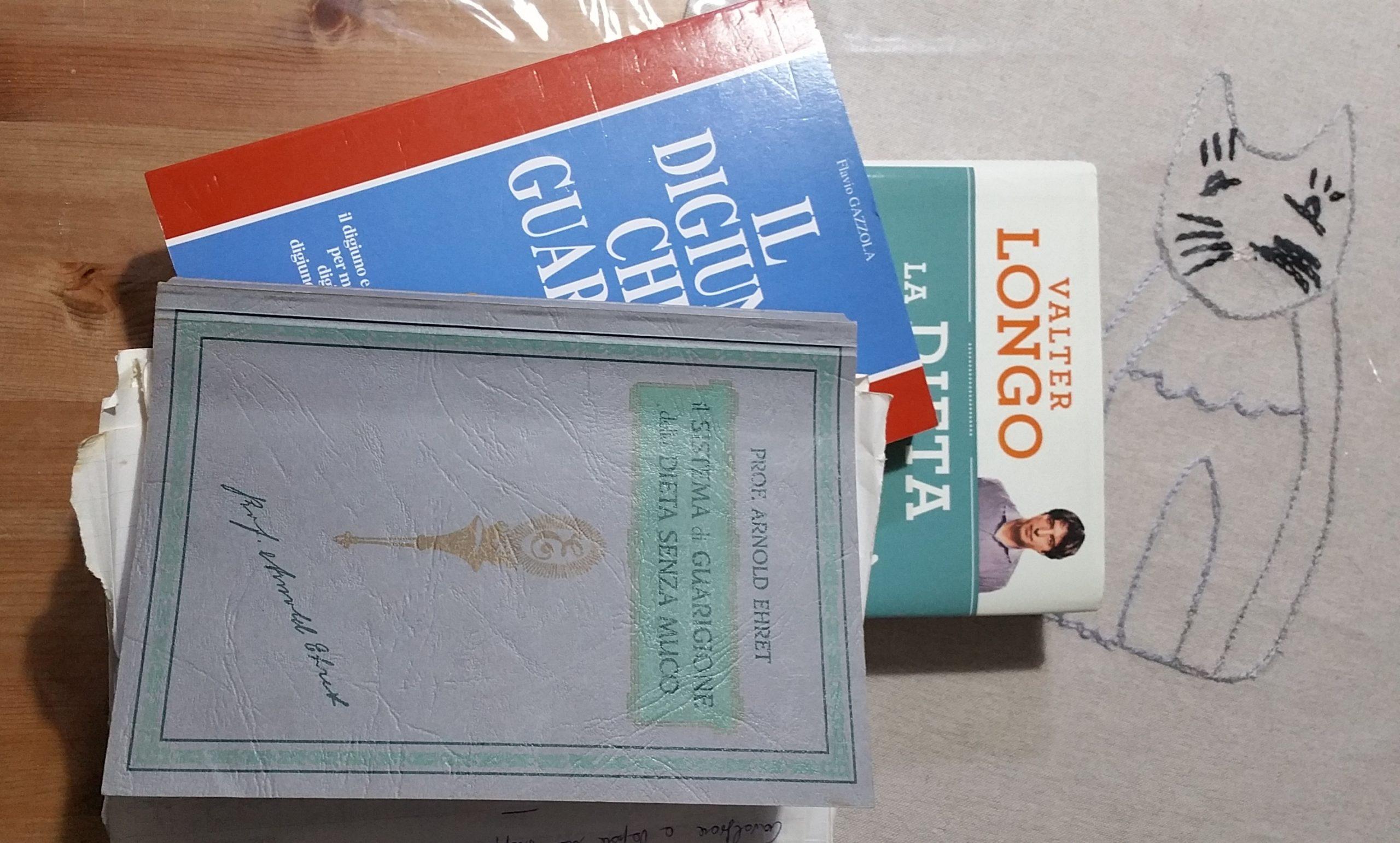 3 libri che consiglio sul digiuno e alimentazione