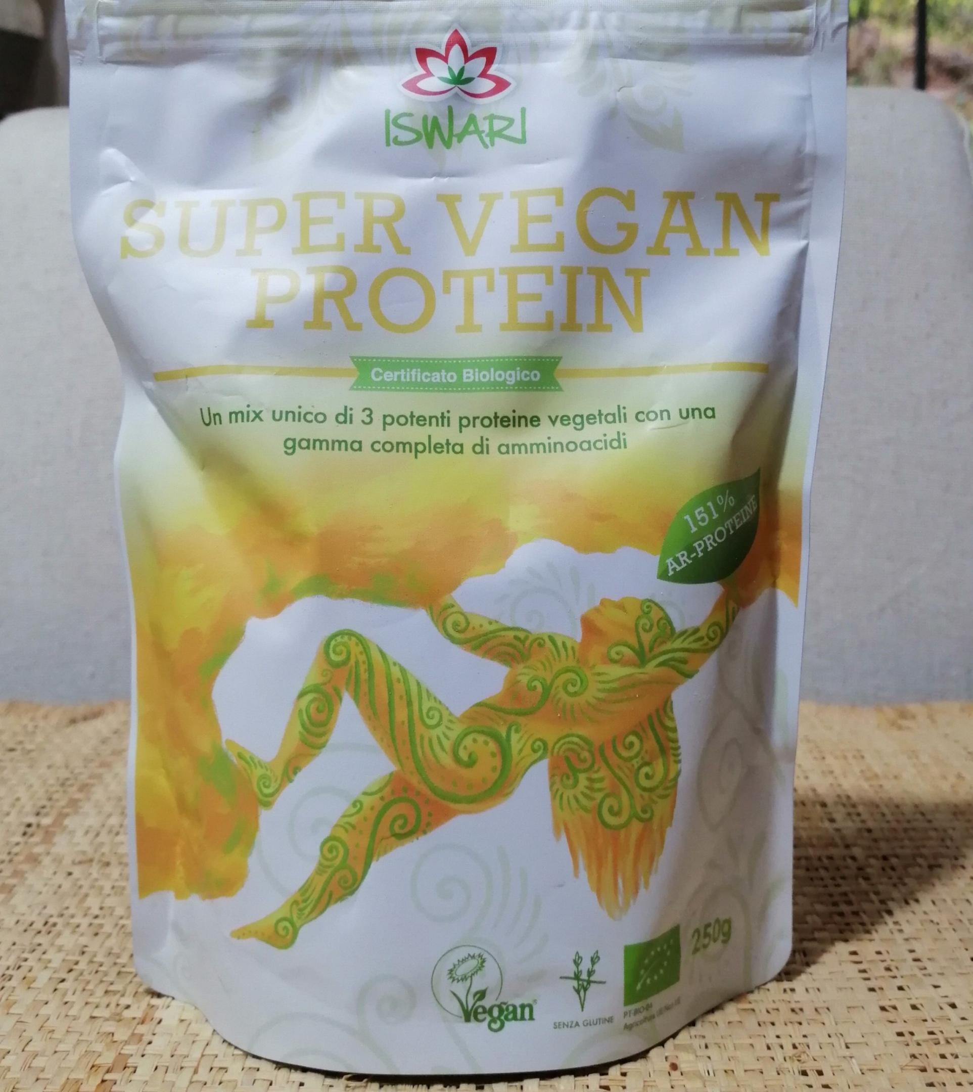 Proteine vegetali in polvere
