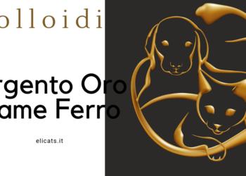 Colloidi: Argento Oro Rame Ferro per Gatto Cane