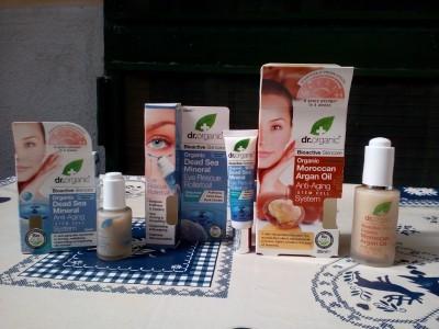 Cosmetici naturali bioattivi Dr Organic, Cosmetici naturali bioattivi Dr Organic