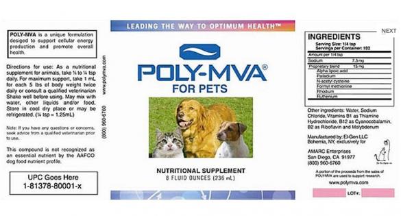 Tumore cane gatto, Poly-mva per contrastare il tumore cane gatto Antiossidante molto potente