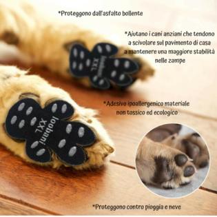 protezione zampe cani caldo
