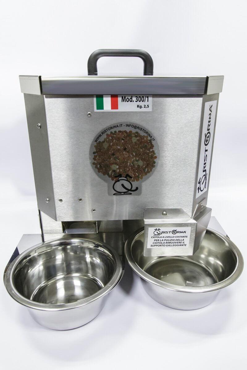Dispenser croccantini e ciotole hi tech e refrigeranti per for Cibo tartarughe acqua