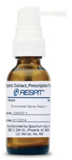 Dermatite atopica cane, Dermatite atopica cane: Immunoterapia regione-specifica Respit