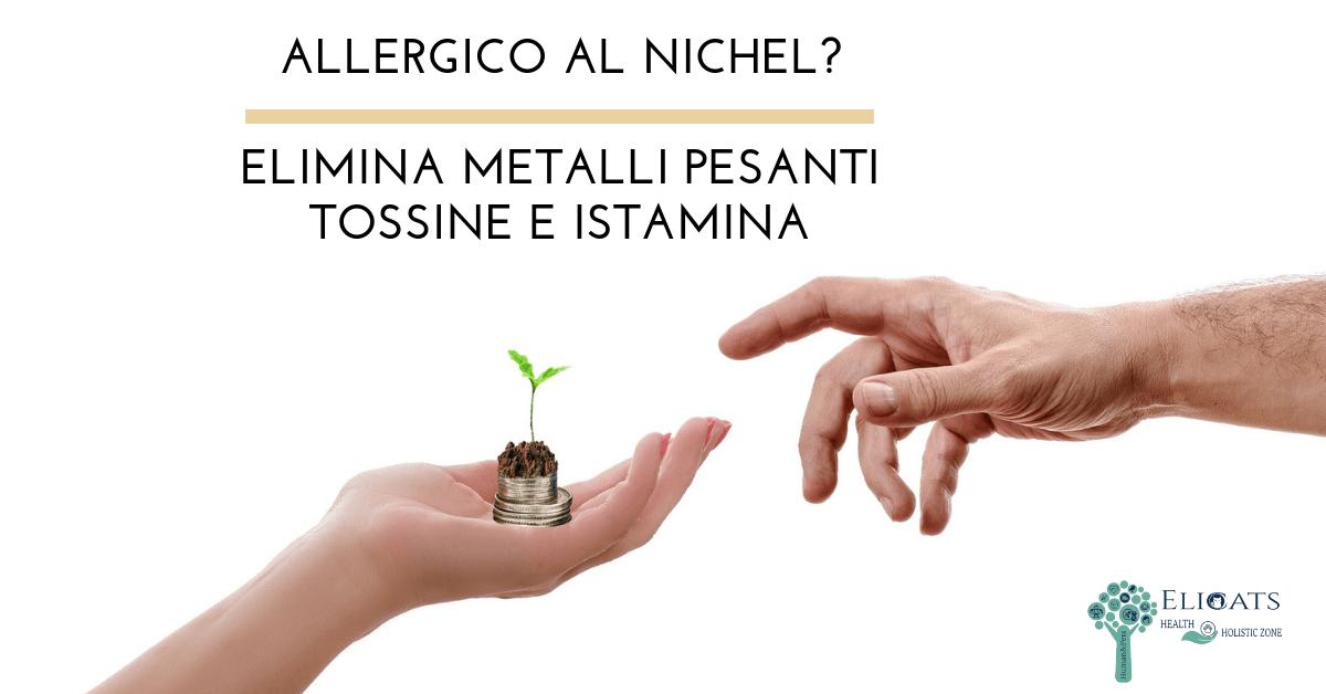 Allergico nichel metalli pesanti