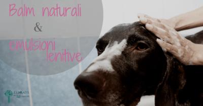 Balm naturali emulsioni lenitive per cane e gatto