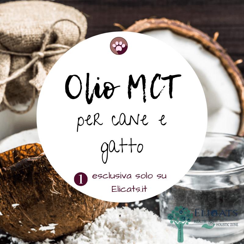 Olio MCT cane