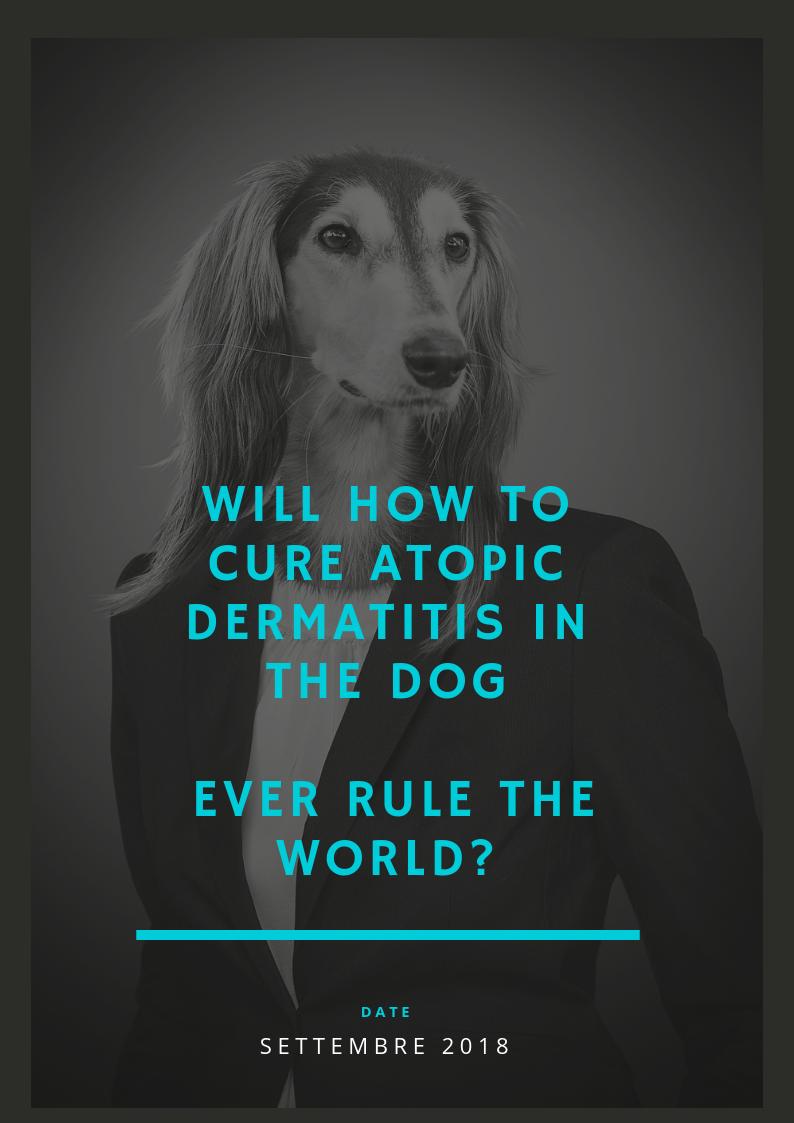 Dermatitis atopic dog
